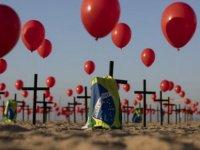Brezilya'da ölü sayısı 100 bini aştı