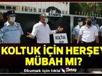 KTAMS'tan 'istihdam' protestosu: Başbakanlık önüne siyah çelenk bırakıldı