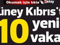 Güney Kıbrıs'ta10 yeni vaka