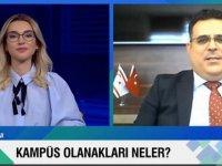 DAÜ Rektörü Prof. Dr. Aykut Hocanın NTV ve Cnn Türk'e konuk oldu