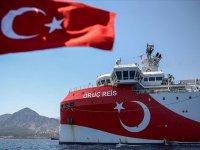 """""""Oruç Reis"""" Araştırma Gemisinin Faaliyetleri Rum Gazetelerinin Manşetlerinde"""