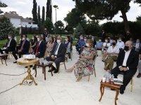 """""""Kıbrıs 'Avrupa'nın Aile Kavgası'"""" Kitabının Tanıtımı Cumhurbaşkanlığı'nda Yapıldı"""
