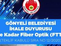 Gönyeli Belediyesi 'Eve Kadar Fiber Optik' ihalesine çıktı