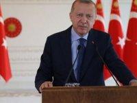 Erdoğan: Döviz kurundan, faizden, terörden, ülkemizin tökezlemesinden medet uman CHP zihniyetindeki muhterislere boyun eğmeyeceğiz