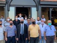 Akıncı, Doğan Türk Birliği İle Türk Ocağı Limasol Ve Girne Halk Evi Lokallerini Ziyaret Etti