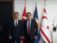 KKTC Sivil Savunma Teşkilatı Başkanlığı'ndan DAÜ'ye Ziyaret