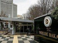 TC Dışişleri Bakanlığından Yunanistan Dışişleri Bakanlığı'na Tepki