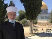 """Filistin müftüsü: """"normalleşme anlaşması kanalıyla mescid-i aksa'yı ziyaret etmek haramdır"""""""