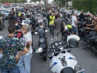 Binlerce Motosikletli, Polisin Sürüş Yasağini Protesto Etti
