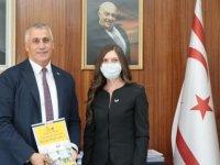 Maliye Bakanı Amcaoğlu, İş Kadınları Derneği Heyetini Kabul Etti