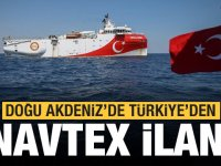 Türkiye Cumhuriyeti, Doğu Akdeniz'de yeni Navtex ilan ettiğini açıkladı…