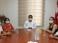 Erhürman, Sosyal Adalet Ve Karantinasız Girişlere Hayır Grubu Üyelerini Kabul Etti