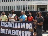 KTAMS Seçim Yasakları Devam Ederken İstihdam Yapıldığı Gerekçesiyla Başbakanlık Önünde Eylem Yaptı