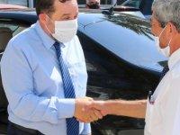 Denktaş'tan Polis Emeklilerine Ziyaret