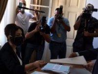CTP Cumhurbaşkanı Adayı Erhürman YSK'ya Başvurusunu Yaptı