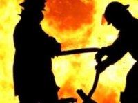 Dağyolunda Burak Engin'e Ait Evinde Tadilat Aşamasında Yangın Çıktı