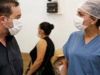 Serdar Denktaş, Cengiz Topel Hastanesi'ni Ziyaret Etti