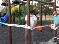 İskele'de halk plajı'ndaki lunapark da dâhil tüm parklar ve piknik alanları kapatılıyor