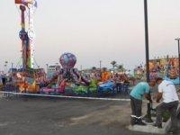 İskele Halk Plajı'ndaki Lunapark Da Dâhil Tüm Parklar Ve Piknik Alanları Kapatıldı
