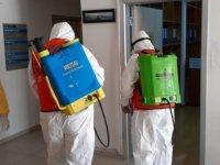Sivil Savunma Başbakanlık Ve Maliye Bakanlığı'nda Dekontaminasyon Çalışmaları Yaptı
