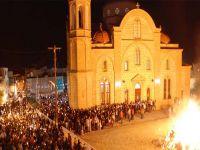 Güneyde Paskalya kutlamalar sırasında yangın çıktı!