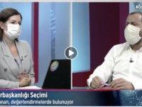 Cumhurbaşkanı adayı Mustafa Akıncı gönüllüsü Siyaset Bilimci Doçent Doktor Sertaç Sonan BRT'de vurguladı: