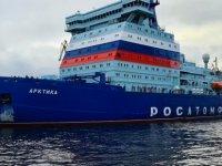 Nükleer Buzkıran Arktika'nin Deneme Seferlerinin Ikinci Aşaması Tamamlandı