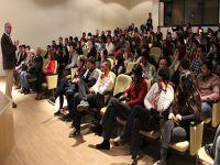 """LAÜ'de """"Stres ve Çözüm Önerileri"""" konusunda konferans verildi"""