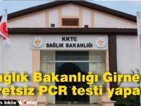 Sağlık Bakanlığı Girne'de ücretsiz PCR testi yapacak