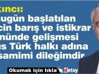 Akıncı Türkiye-Yunanistan arasındaki görüşmelerin başlama kararını değerlendirdi