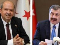 Başbakan Tatar, TC  Sağlık Bakanı Koca ile projeleri ve işbirliği konularını ele aldı (VİDEO)