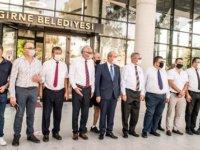 Tatar Girne Belediyesi Ve Spor Kulüplerini Ziyaret Etti
