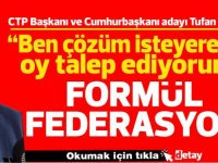 Erhürman: Formül federasyondur