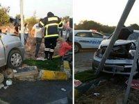 Girne-Alsancak yolunda feci kaza: 9 yaralı