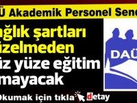 DAÜ-SEN:Başbakan bize talimat veremez