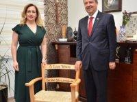 Sibel Tatar bugün Halk Vakfı Yaşam Sitesi'ni ziyaret etti