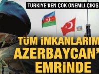 """T.C. Sanayi Bakanı Demir, """"Savunma sanayii olarak tüm imkanlarımız kardeş Azerbaycan'ın emrinde"""""""