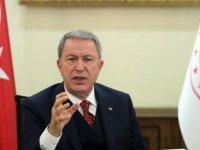 TC Milli Savunma Bakanı Akar, Azerbaycan Savunma Bakanı ile görüştü