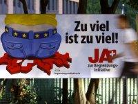 İsviçre'deki referandumda AB ile serbest dolaşımı sonlandırma teklifi reddedildi