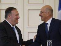 ABD Dışişleri Bakanı Pompeo Yunanistan'da Mevkidaşı Dendias İle Görüştü