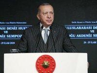 Erdoğan: Akdeniz'i barış havzasına çevirelim