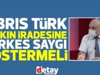 """Akıncı'nın temsilcisi Samani:Kıbrıs Türk Halkının İradesine Herkes Saygı Göstermeli"""""""