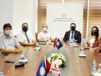 KTMMOB Genel Başkanı Seran Aysal'dan Daü'ye Ziyaret