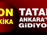 Başbakan Ersin Tatar Ankara'ya gidiyor