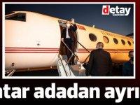 Tatar Ankara'ya gitmek üzere adadan ayrıldı