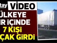 Polis Lefkoşa'da operasyon yaptı (VİDEO)