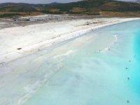 İşte Salda Gölü'nün kumlarının beyaz renkte olmasının nedeni!