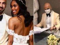 Soner Sarıkabadayı, model Madelein Lopez Camelo ile evlendi
