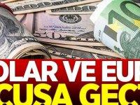 Kritik veriler öncesinde dolar ve euro yükselişte