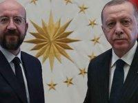 TC Cumhurbaşkanı Erdoğan, Ab Konseyi Başkanı Michel'le Telefonda Görüştü